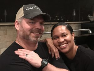 Richard Wiggins and Tiffany