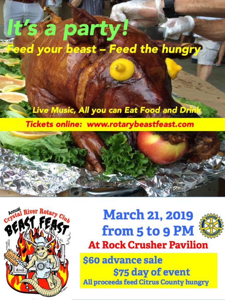 Beast Feast Detail Ad